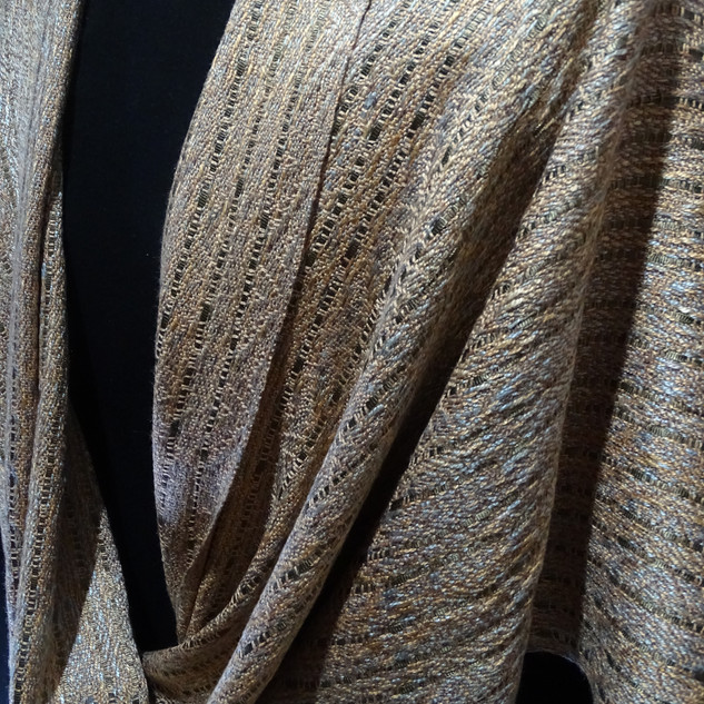 taupe straw birch silver gray mobius