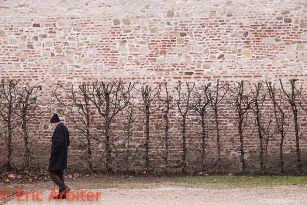 Man and Wall, Vienna
