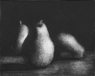 Pears #2 Etching