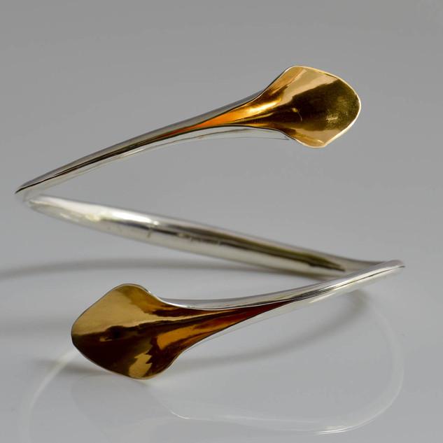 Lily Wrap Bracelet - Gold Plated