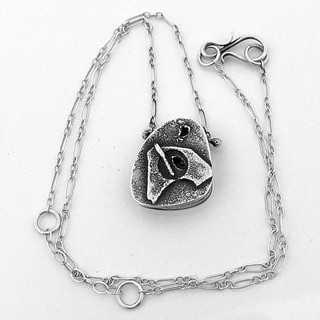 Small Sterling Hollowform Necklace