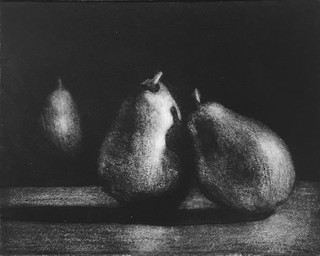 Pears #3 Etching