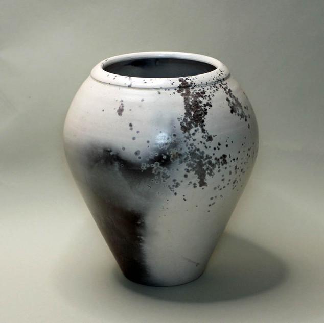 Pit Fire Ceramic Vase