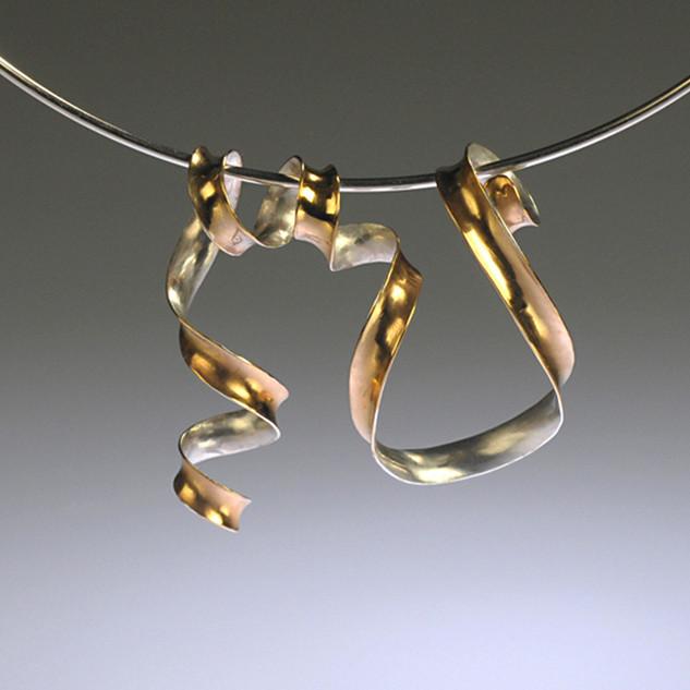Ribbon Slider - Gold Plated