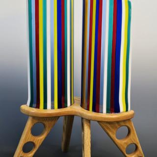 Multi-color Towers Lightened Legs