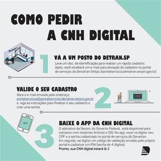 CNH DIGITAL: sua habilitação em seu smartphone