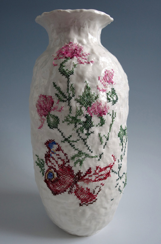 Porcelana Bordada
