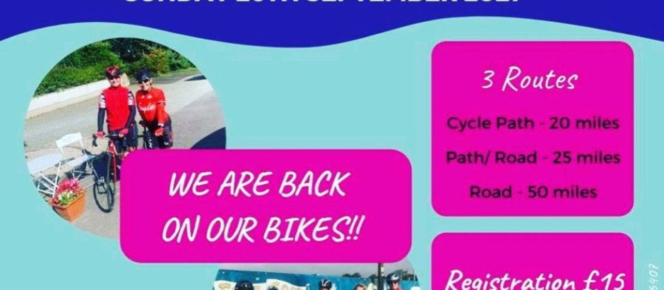 Ladies only cycle 2021