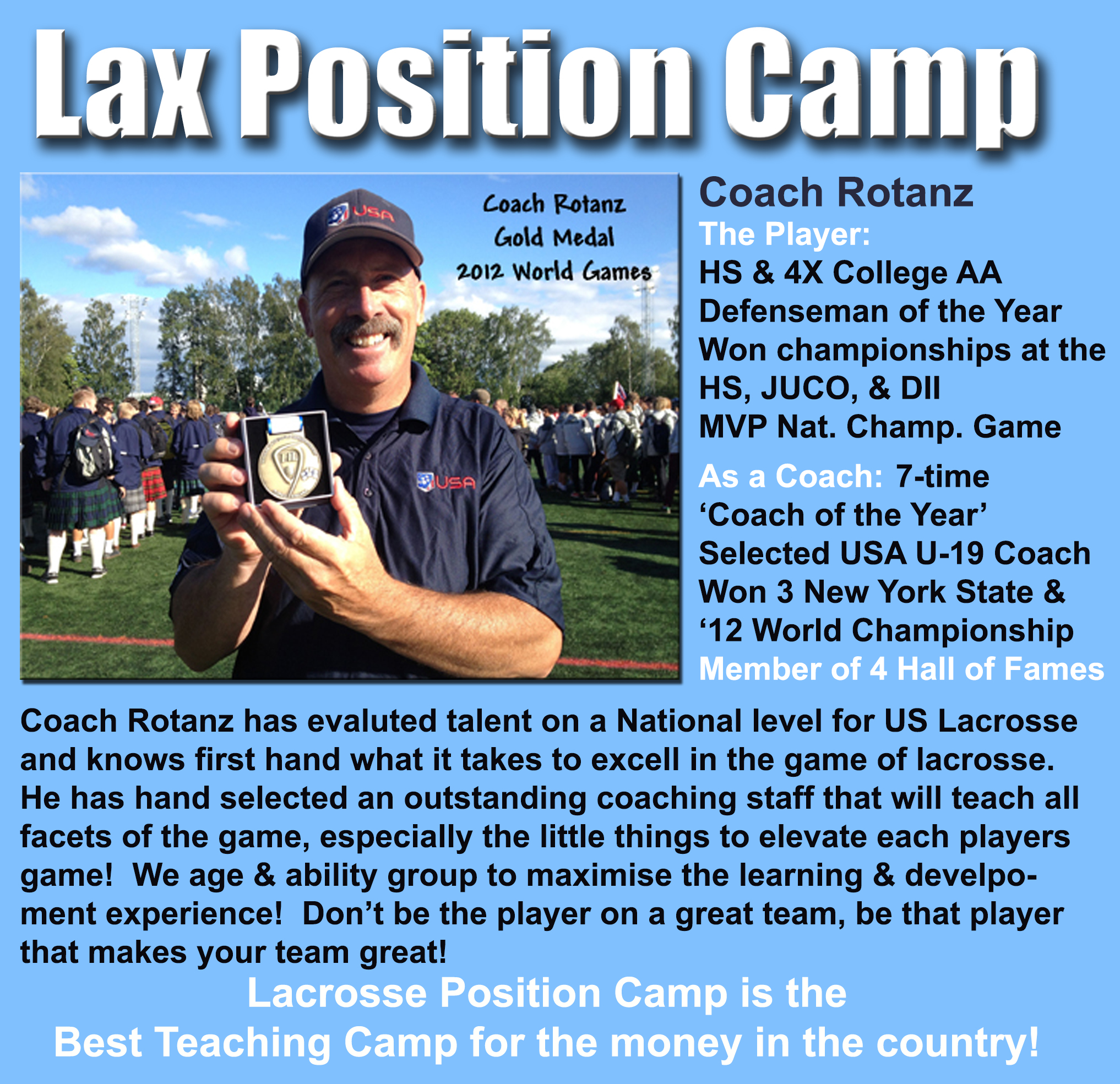 Lacrosse Position Camp