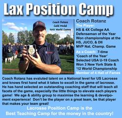 Lacrosse Position Camp
