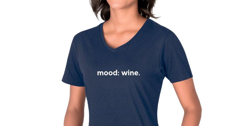 Ladies Wine T-Shirt