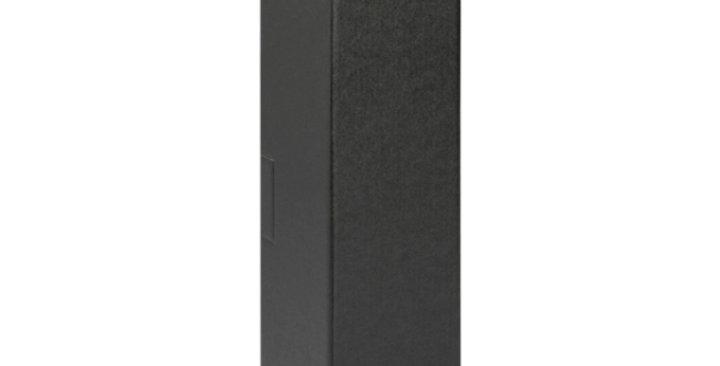 Single Bottle 750ml Cardboard Wine Box without Window - Black