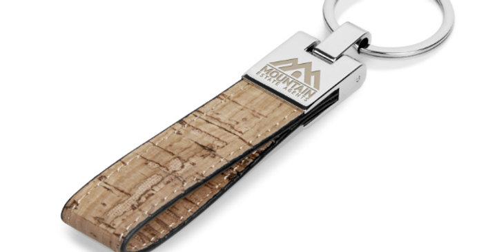 Ravine Cork Keyring