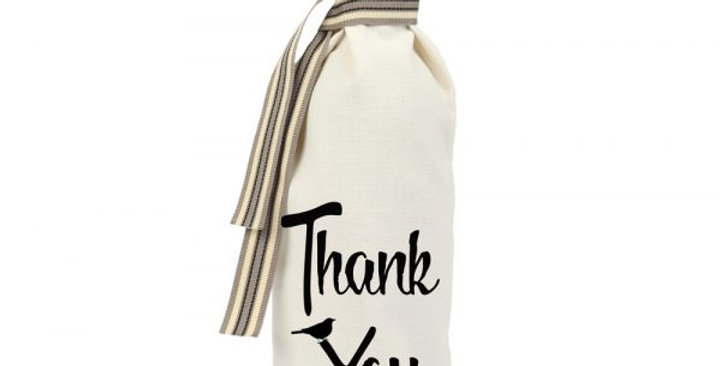 Thank You Wine Gift Bag