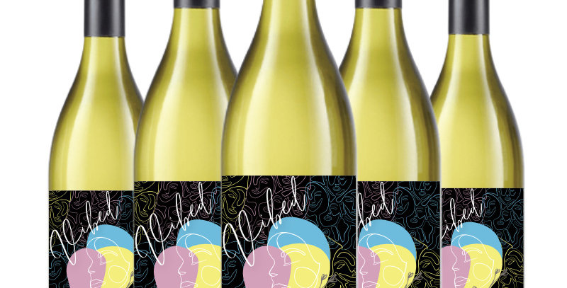 Custom Labelled White Wine - Case of 6