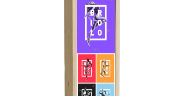Full Colour Digital Printed Box - 1 Bottle