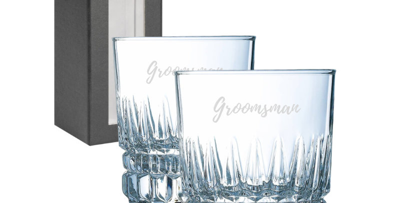 Imperial Whisky Glasses - Incl Engraving
