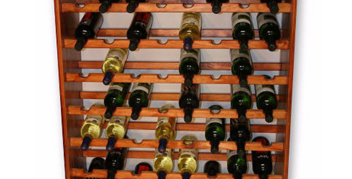72 Bottle Standing Wine Rack