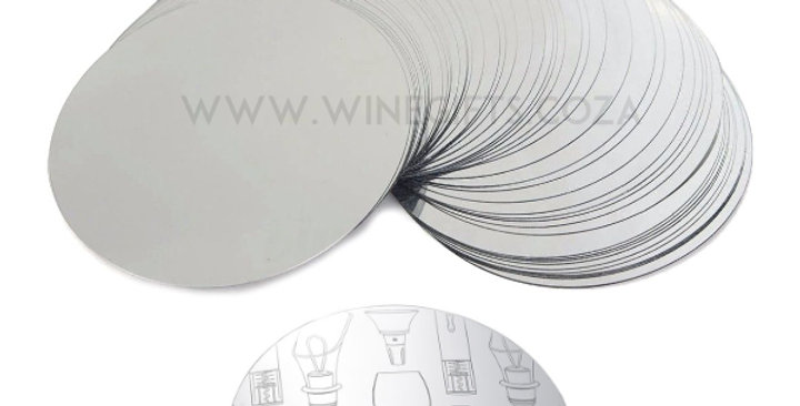 Printing - Drip Stop Foil Disc Pourer
