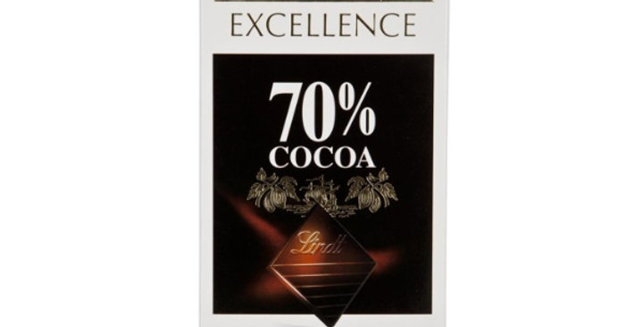 Lindt Excellence 70 Dark Chocolate