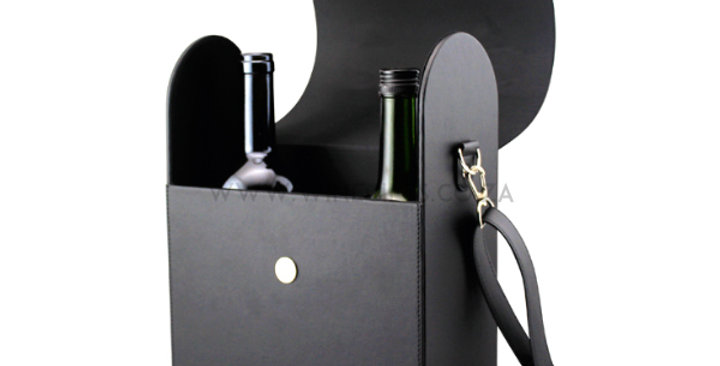 Laser Engraving - Exclusive Wine Bag