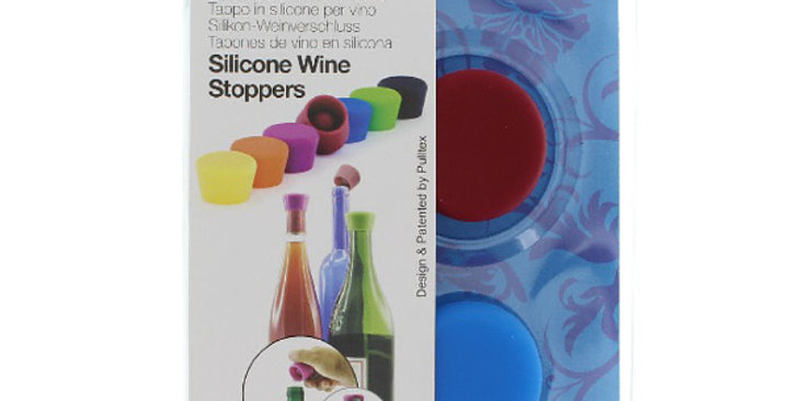 Pulltex Silicone Wine Stoppers