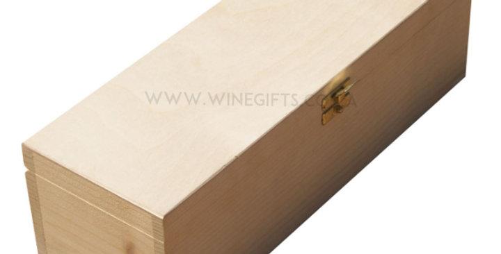 One Bottle 750ml Premium Hinged Lid Box