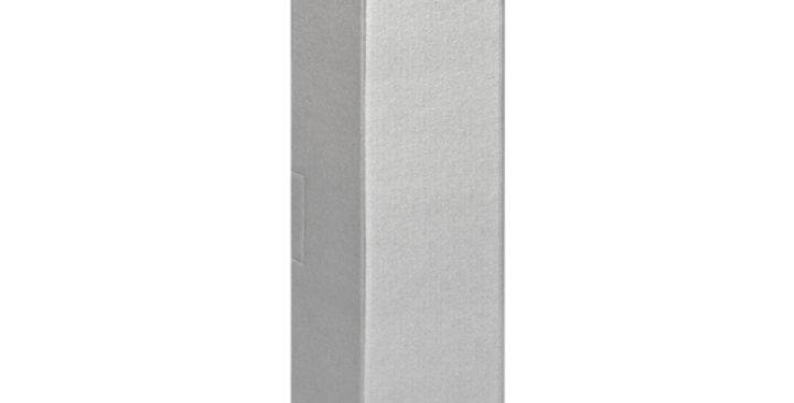 Single Bottle 750ml Cardboard Wine Box without Window - Silver