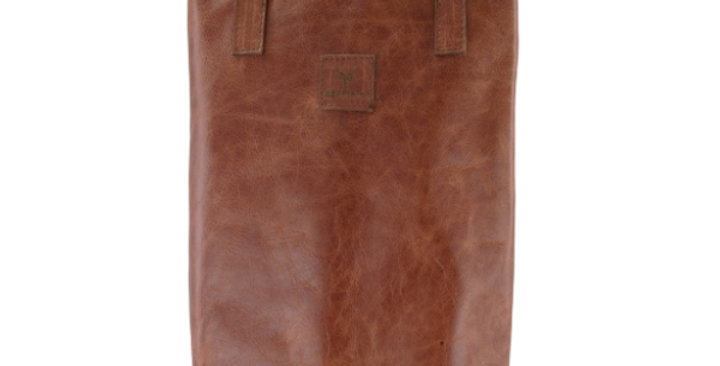 Leather Wine Bag - Double Bottle