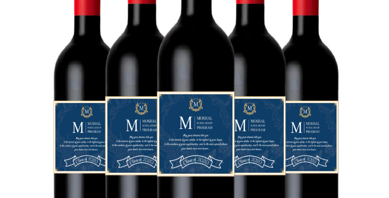 Custom Labelled Red Wine - Case of 6