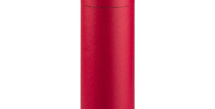 One Bottle 750ml Cardboard Wine Tube - Red