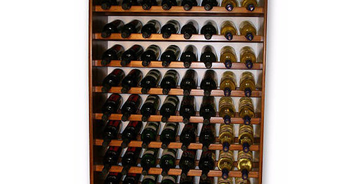 96 Bottle Standing Wine Rack
