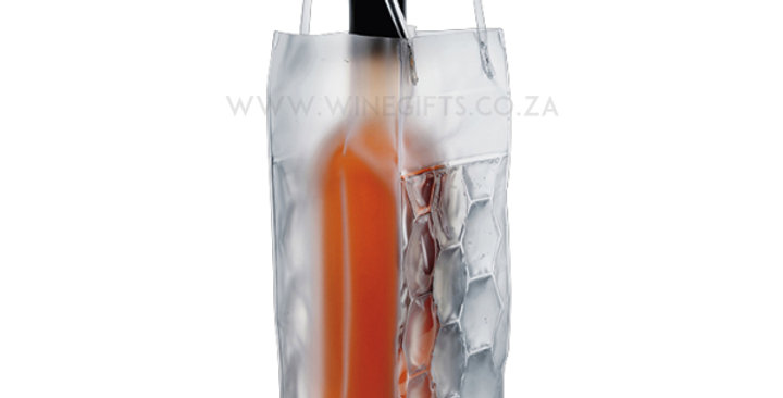 Freeze Gel Wine Cooler Bag - Clear