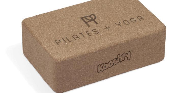 Kooshty Cork Yoga Block