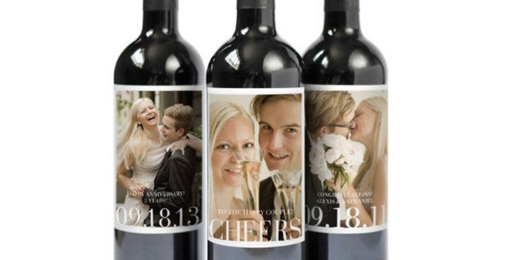 Personalized Wine Label - Printing and Application