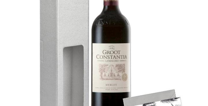 Groot Constantia Merlot Gift Box