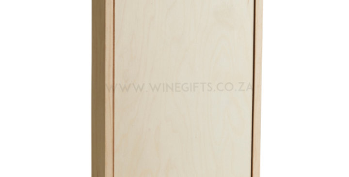 Printing - Two Bottle Wooden Box (One Colour)