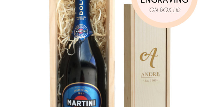 Martini Bubbly Gift (Incl. Personalization)