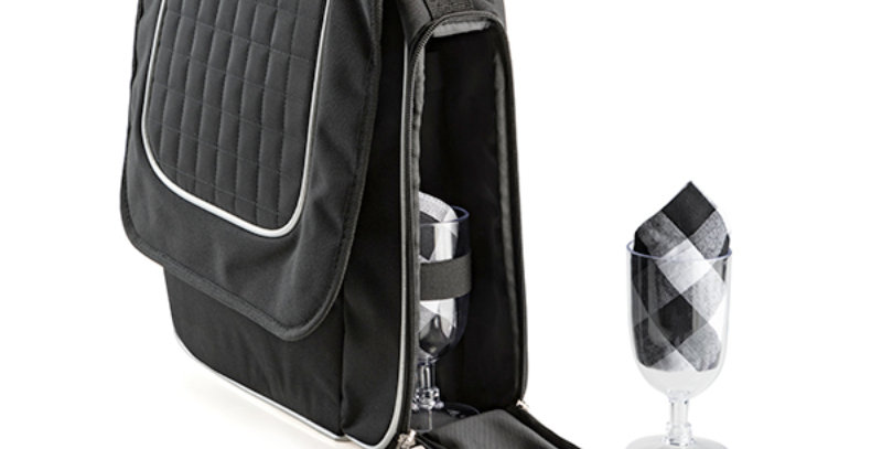 Wine Cooler Satchel with Accessories