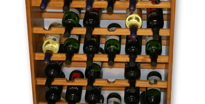 36 Bottle Standing Wine Rack