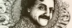 Kurt Vonnegut Portrait - Detail