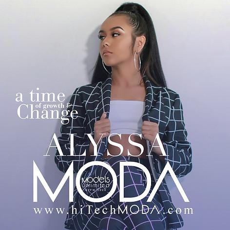 MODA MODEL Alyssa Hernandez