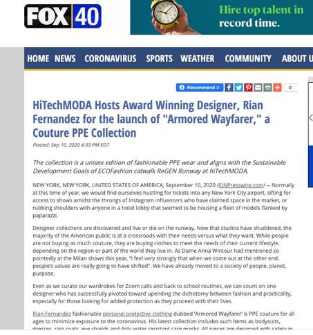 Fox 40 - NYFW hiTechMODA Season 4
