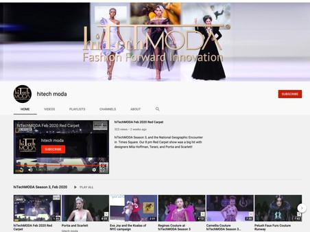 hiTechMODA YouTube