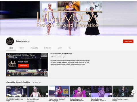 hiTechMODA YouTube