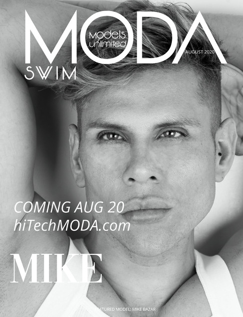 Moda Models Unlimited Swim Issue Mike