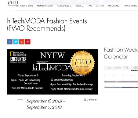 Fashion Week Online Recommended Show