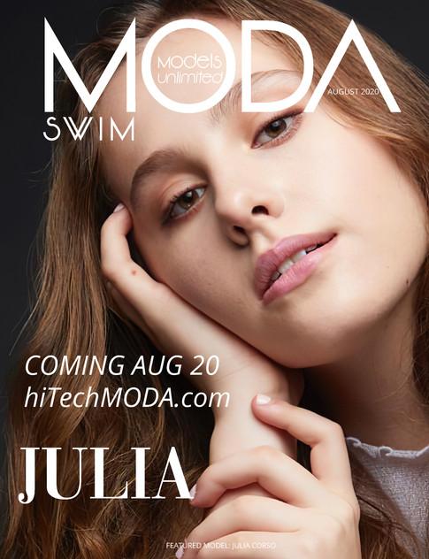 Moda Models Unlimited Swim Issue Julia