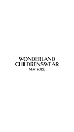 Wonderland Childrenswear