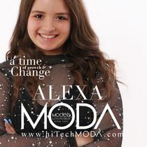 MODA MODEL Alexa Saracino